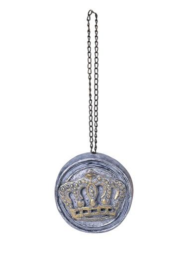 Vintage Crown Duvar Aksesuarı-Dekorazon